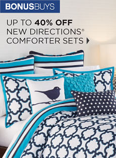 BONUSBUYS | UP TO 40% OFF NEW DIRECTIONS® COMFORTER SETS