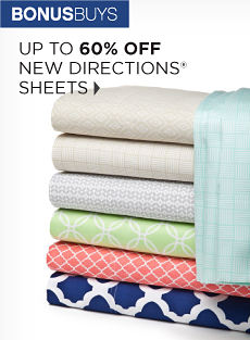 BONUSBUYS | UP TO 60% OFF NEW DIRECTIONS® SHEETS