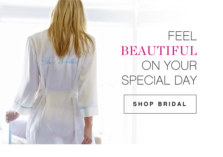 Feel Beautful On Your Special Day | Shop Bridal