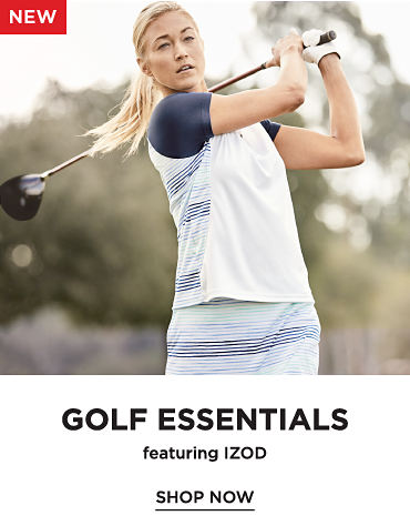 New! Golf Essentials featuring IZOD - Shop Now