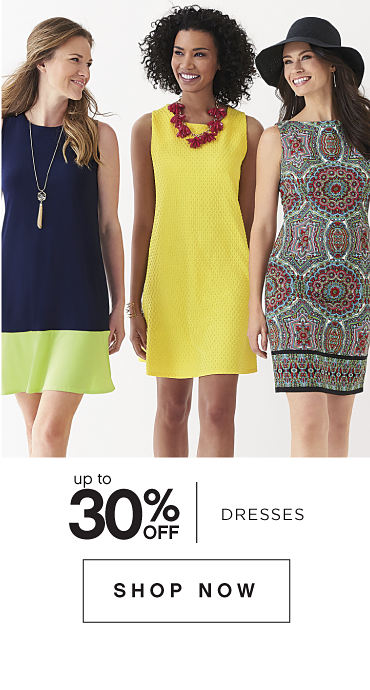 Up to 30% off Dresses - Shop Now