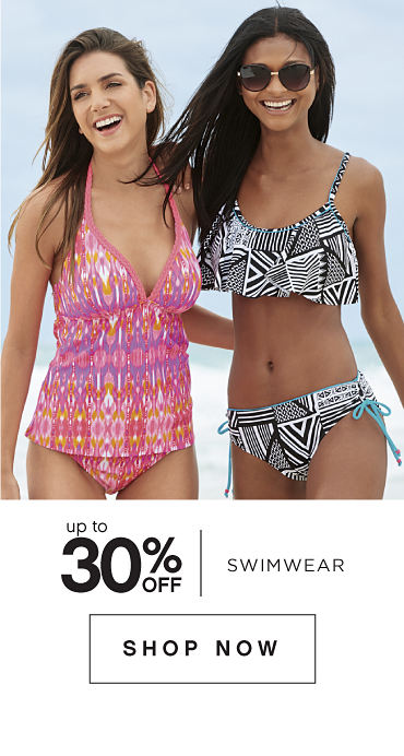 Up to 30% off Swimwear - Shop Now