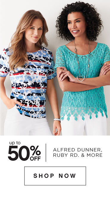 Up to 50% off Alfred Dunner, Ruby Rd. & More - Shop Now