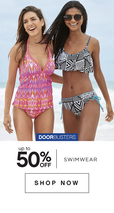 Doorbusters | Up to 50% off Swimwear - Shop Now