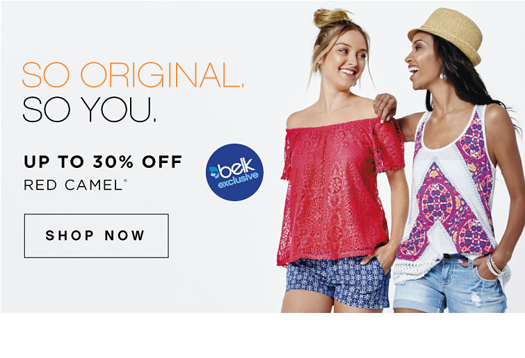 So original. So you. | Belk exclusives. | Up to 30% off Red Camel® | shop now