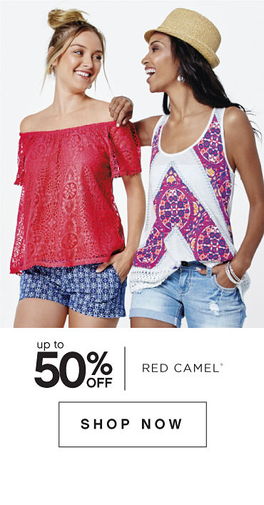 Up to 50% off Red Camel® | shop now