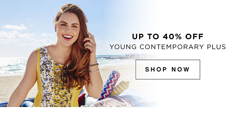Up to 40% off Young Contemporary Plus