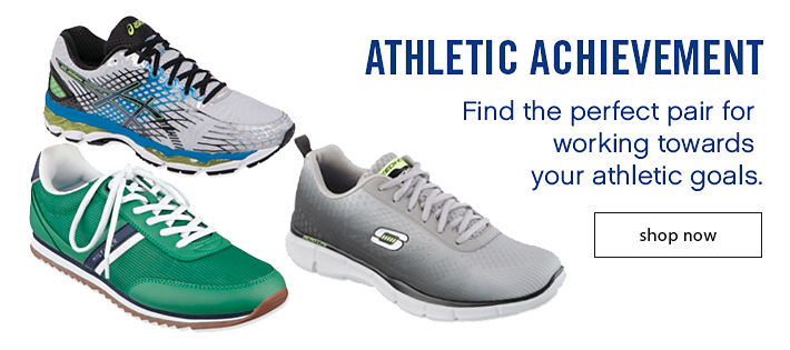 Athletic Achievement - Find the perfect pair for working towards your athletic goals.