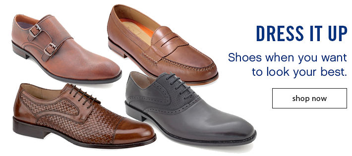 Dress It Up - Shoes when you want to look your best.