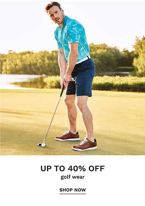 Up to 40% off Golf Wear - Shop Now