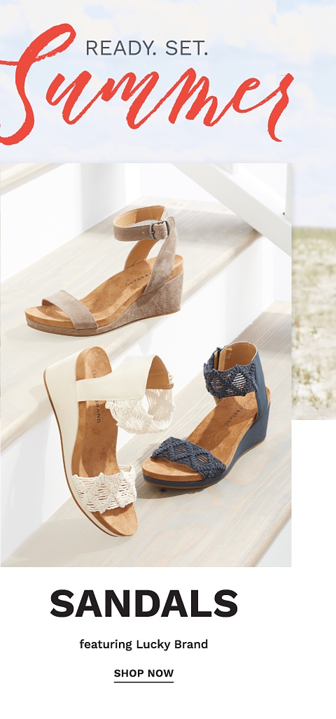 Ready. Set. Summer - Sandals featuring Lucky Brand - Shop Now