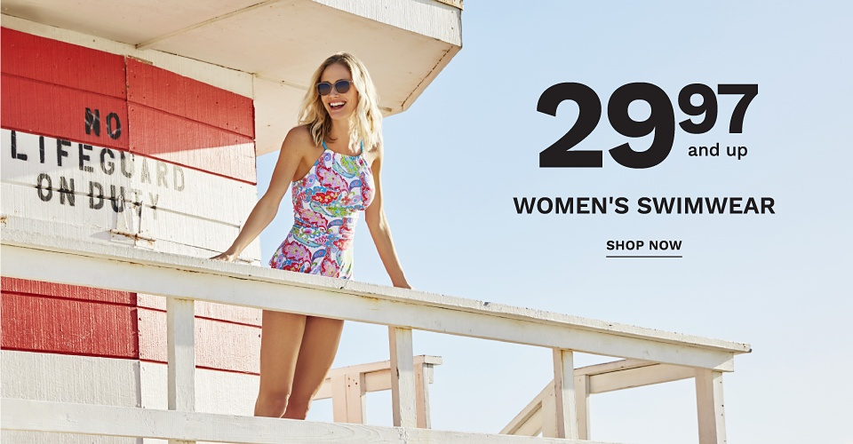29.97 and up Women's Swimwear - Shop Now