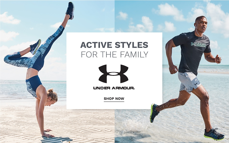 Active Styles for the Family - Under Armour - Shop Now