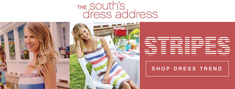 The South's Dress Address | Stripes - Shop Dress Trend