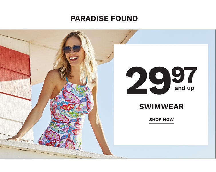 Parasdise Found! 29.97 and Up Swimwear - Shop Now