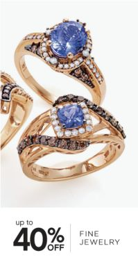 up to 40% OFF FINE JEWELRY