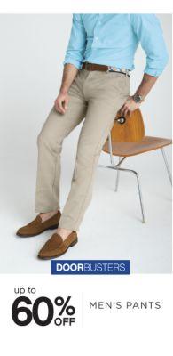 DOORBUSTERS | up to 60% OFF | MEN'S PANTS