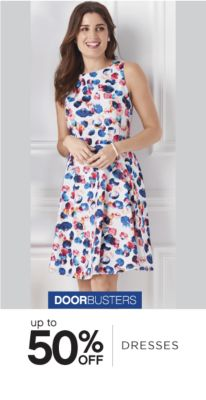 DOORBUSTERS | up to 50% OFF DRESSES