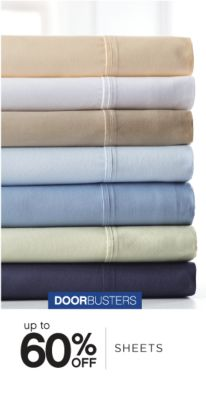 DOORBUSTERS | up to 60% OFF SHEETS