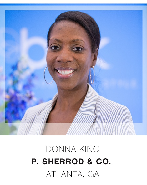 Donna King | P. Sherrod & Co. | Atlanta, GA