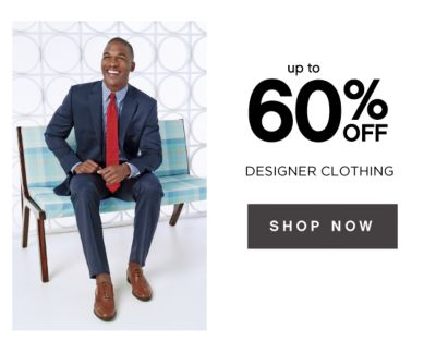 up to 60% OFF DESIGNER CLOTHING | SHOP NOW