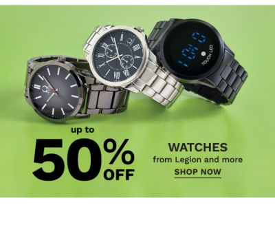 Up to 50% off watches from Legion and more. Shop Now.