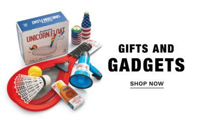 Gitfs and Gadgets. Shop Now.