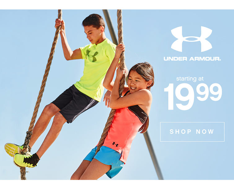 Under armour® | Starting at 19.99 | shop now