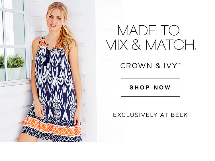 Made to Mix & Match. | crown & ivy™ *Exclusively at Belk - Shop Now