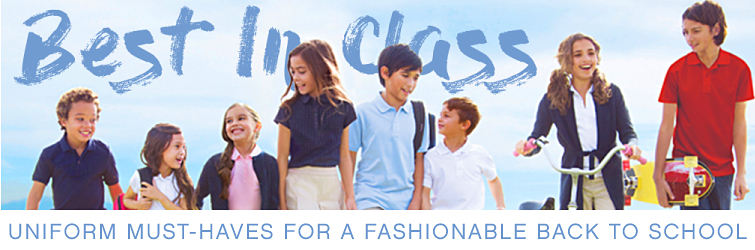 Best In Class | Uniform must-haves for a fashionable back to school