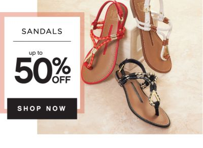 SANDALS | up to 50% OFF | SHOP NOW