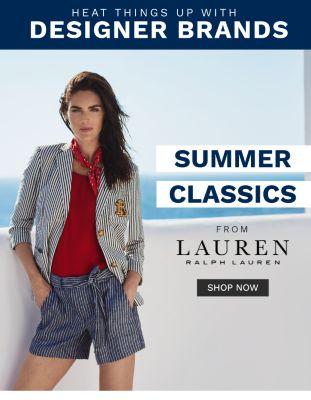 Heat Things Up with Designer Brands - Summer Classics from Lauren Ralph Lauren - Shop Nw