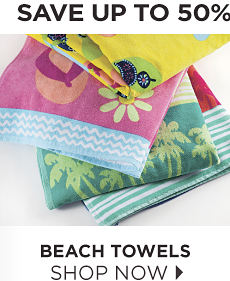 Save Up To 50% | Beach Towels Shop Now