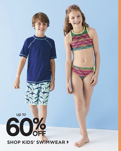 Up To 60% Off Shop Kids' Swimwear
