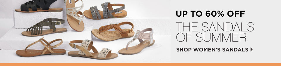 Up To 60% Off The Sandals Of Summer | Shop Women's Sandals