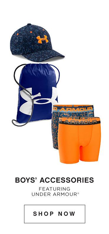 Boys' Accessories | Featuring Under Armour® | shop now