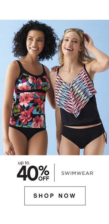 Up to 40% off Swimwear - Shop Now