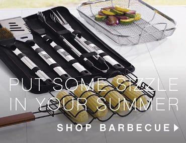 Put Some Sizzle In Your Summer | shop barbecue