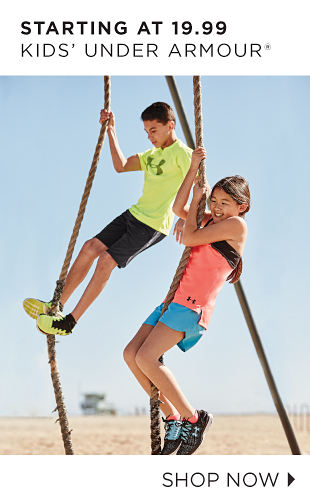 Starting At 19.99 Kids' Under Armour® | Shop Now