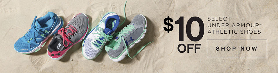 $10 Off Select Under Armour® Athletic Shoes | Shop Now