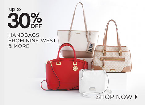 Up To 30% Off Hnadbags From Nine West & More | Shop now