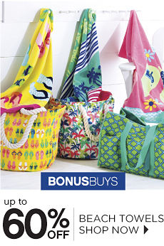 BonusBuys | Up To 60% Off Beach Towels Shop Now