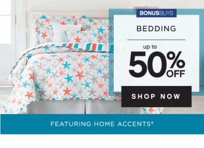 BONUSBUYS | BEDDING UP TO 50% OFF | SHOP NOW