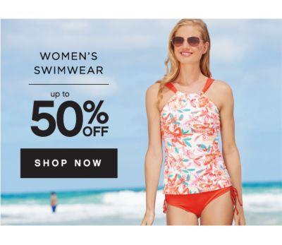WOMENS SWIMWEAR UP TO 50% OFF