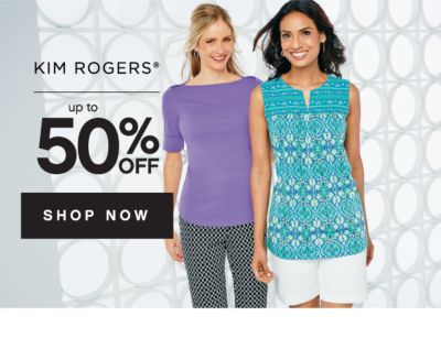 Kim Rogers up to 50% off | shop now