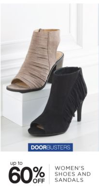 DOORBUSTERS | up to 60% OFF WOMEN'S SHOES AND SANDALS
