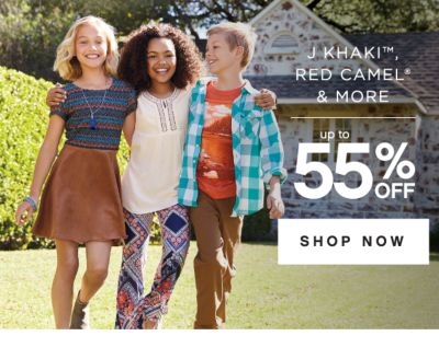 J KHAKI™, RED CAMEL® & MORE | up to 55% OFF | SHOP NOW