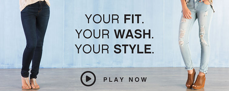 Your Fit. Your Wash. Your Style. - Play Now