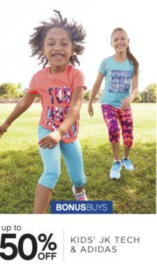 BONUSBUYS | up to 50% OFF KIDS' JK TECH & ADIDAS