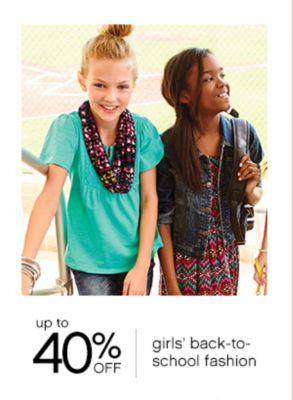 girls back to school fashion